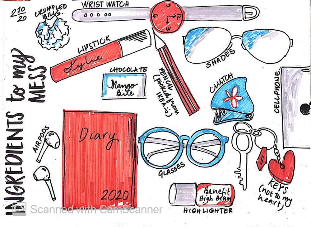 ILLUSTRATED JOURNALING BY DYLANN.M - image 10 - student project