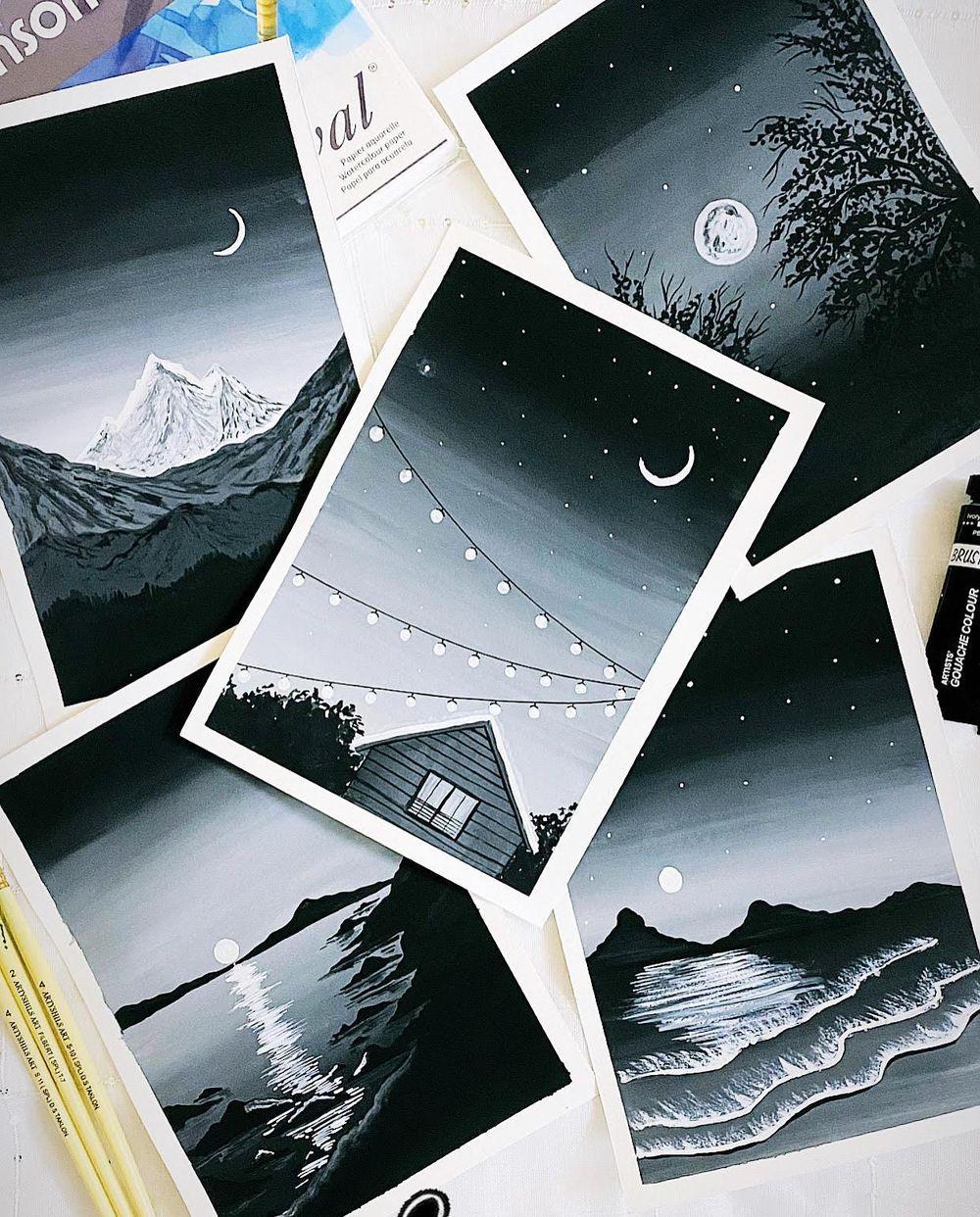 Monochrome - image 1 - student project