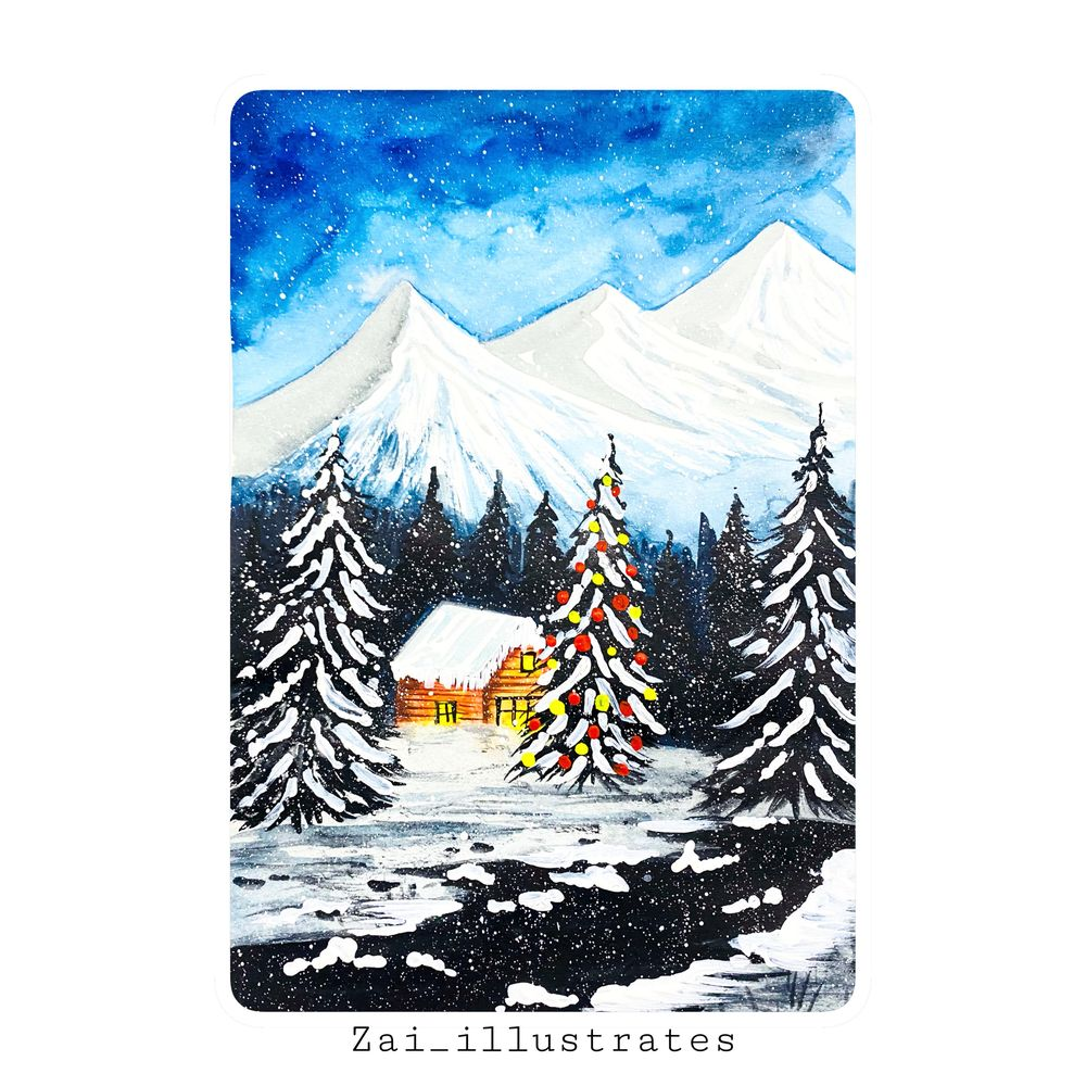 Winter Christmas - image 1 - student project