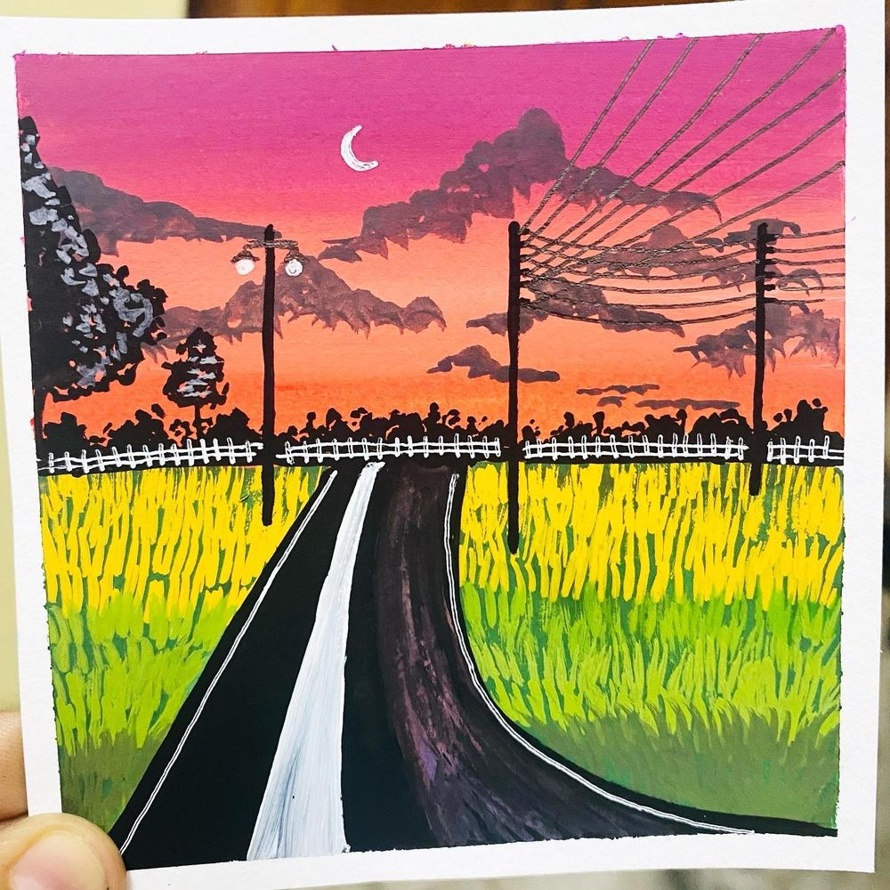Gouache Silhouttes - image 3 - student project