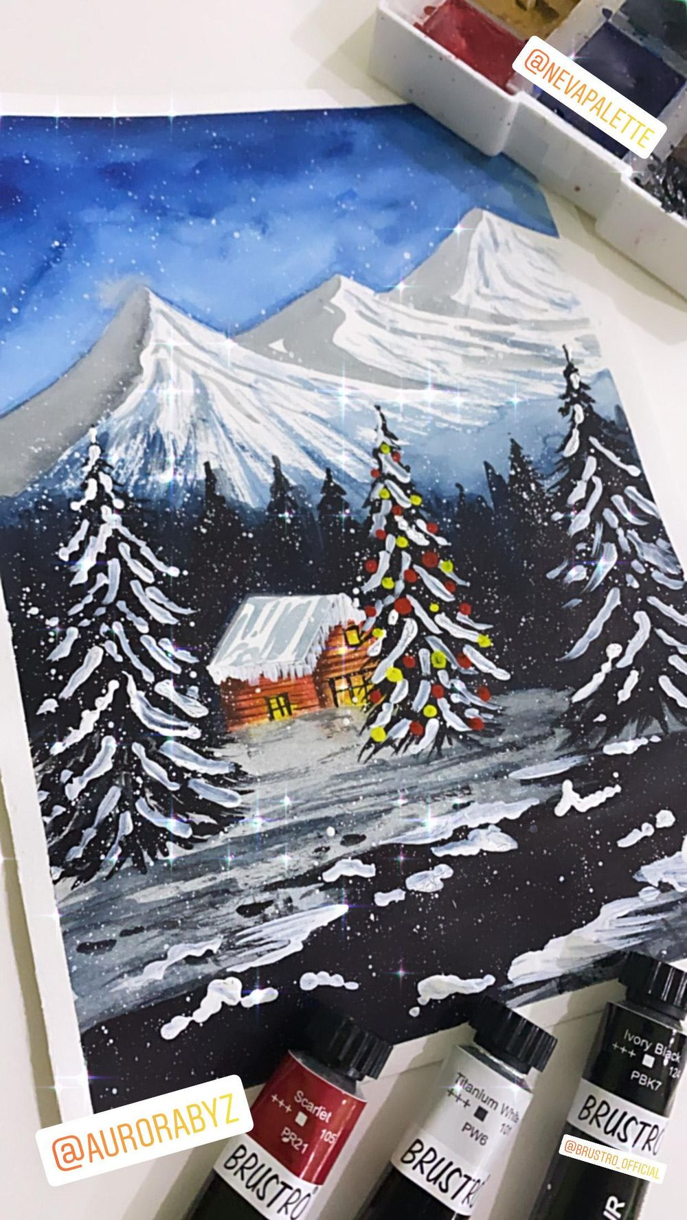 Winter Christmas - image 2 - student project