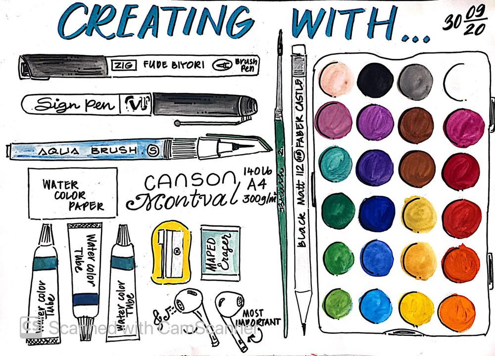 ILLUSTRATED JOURNALING BY DYLANN.M - image 12 - student project