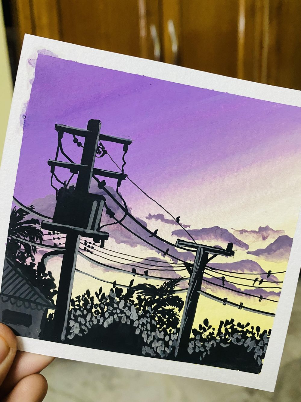 Gouache Silhouttes - image 4 - student project