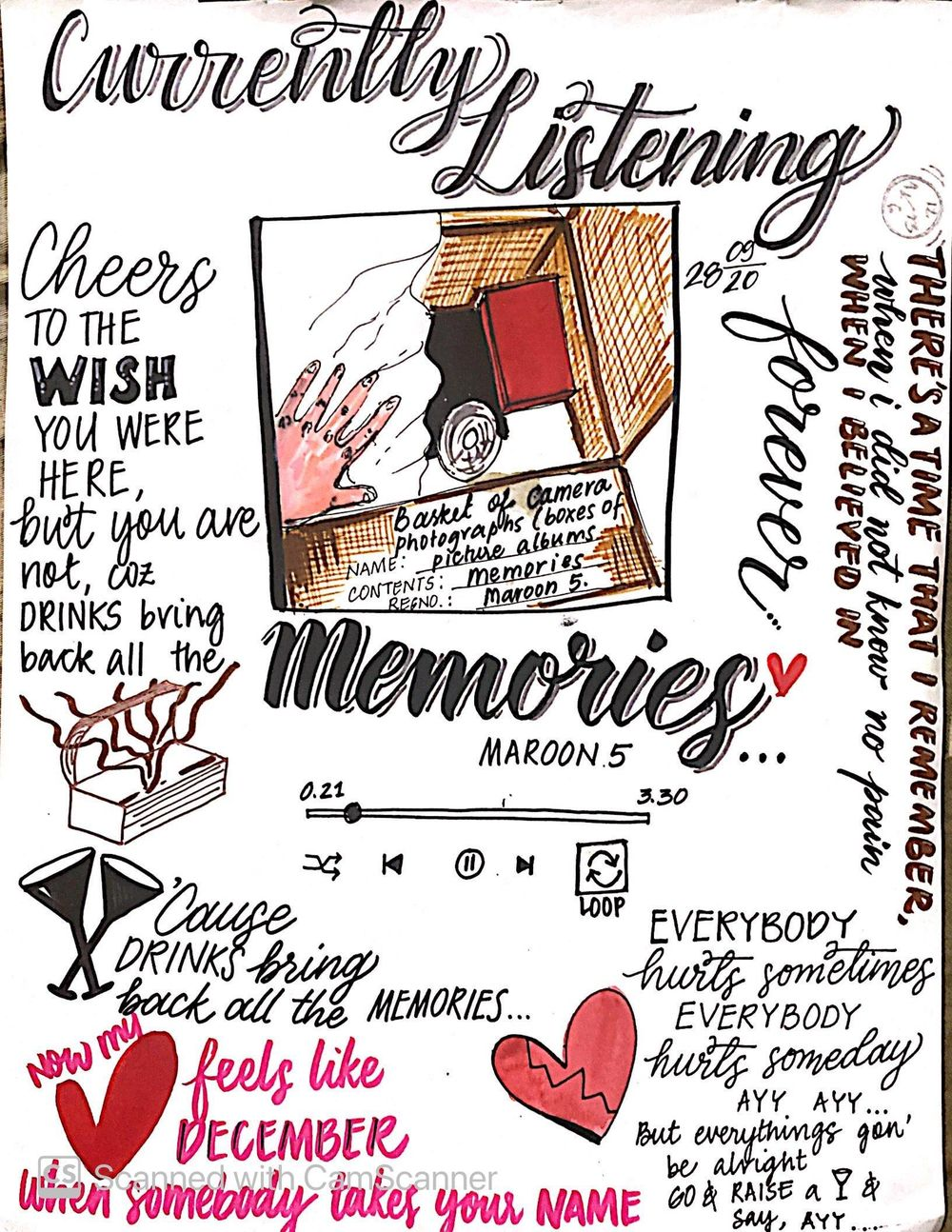ILLUSTRATED JOURNALING BY DYLANN.M - image 14 - student project