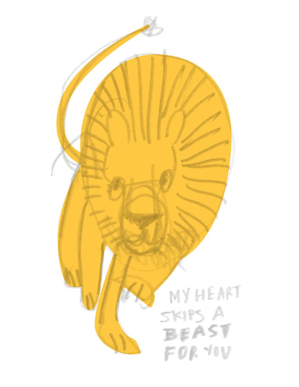 My Heart BEASTS For You - image 2 - student project