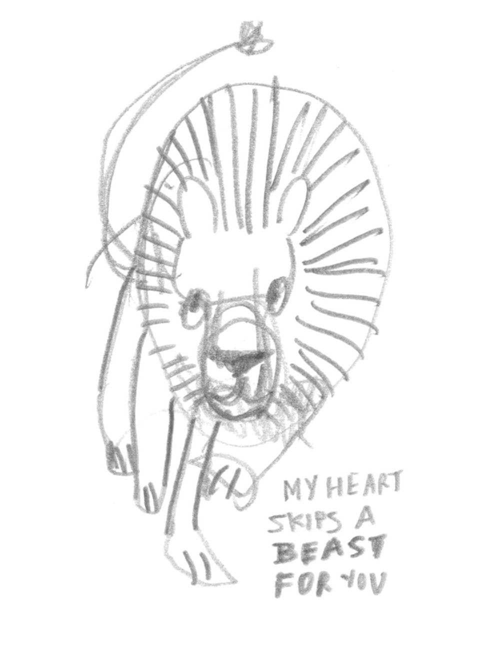 My Heart BEASTS For You - image 1 - student project