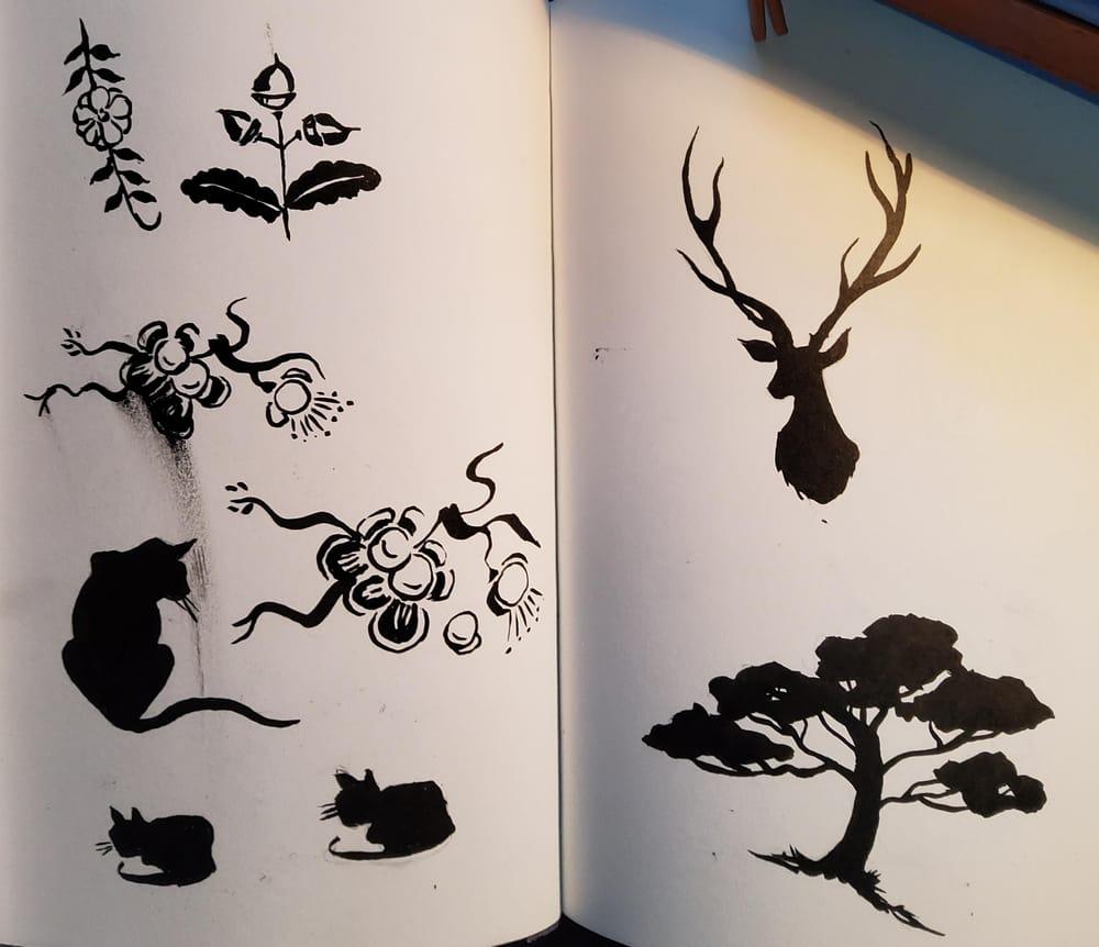 KayBiden Inking Practice - image 2 - student project