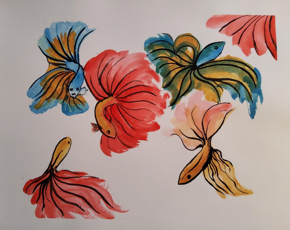 KayBiden Inking Practice - image 7 - student project