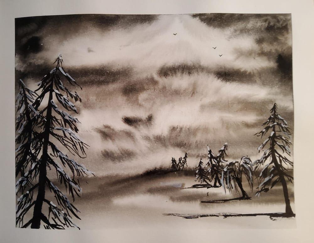 KayBiden Inking Practice - image 3 - student project