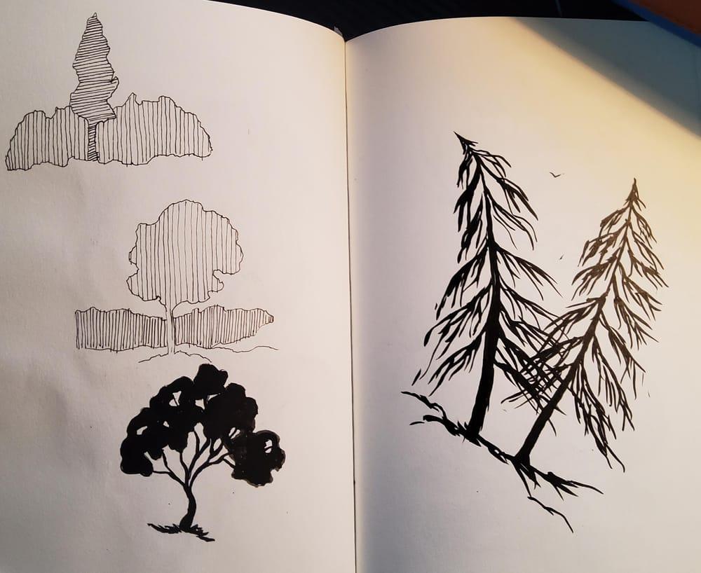 KayBiden Inking Practice - image 1 - student project