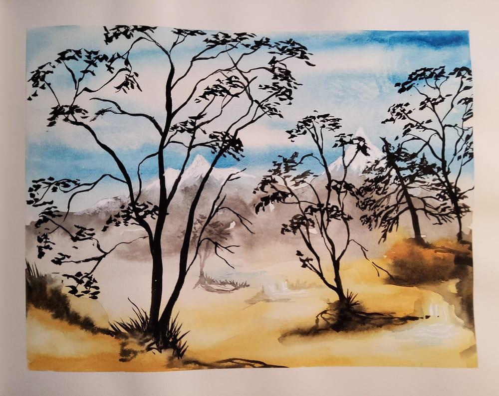 KayBiden Inking Practice - image 6 - student project