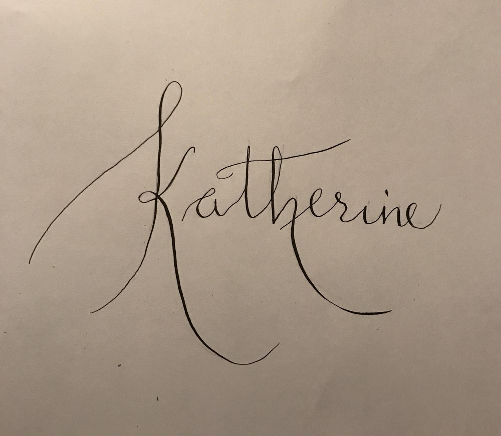 Beginner Modern Calligraphy Project - image 1 - student project
