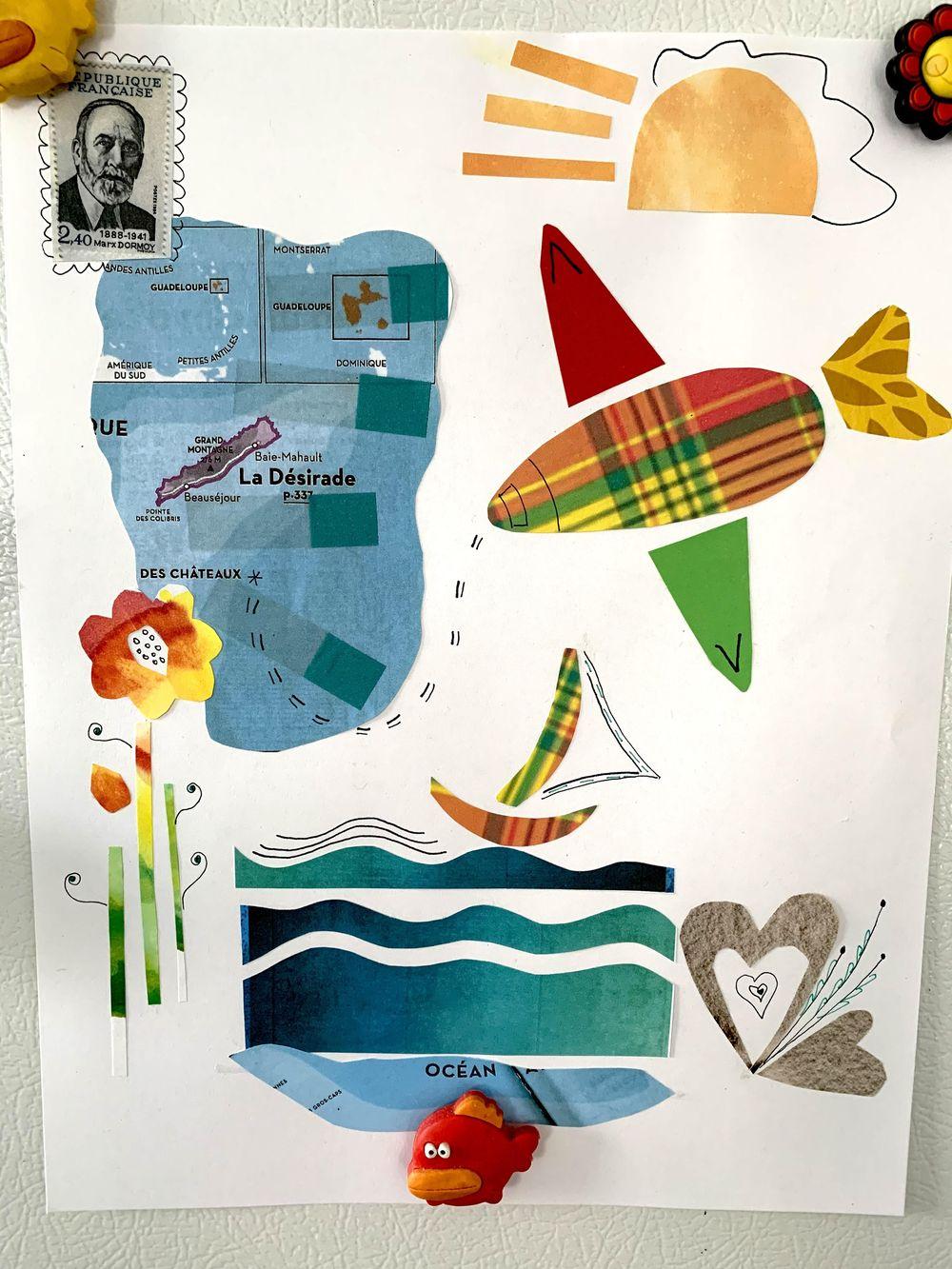 Histoires de collage ;-) - image 2 - student project