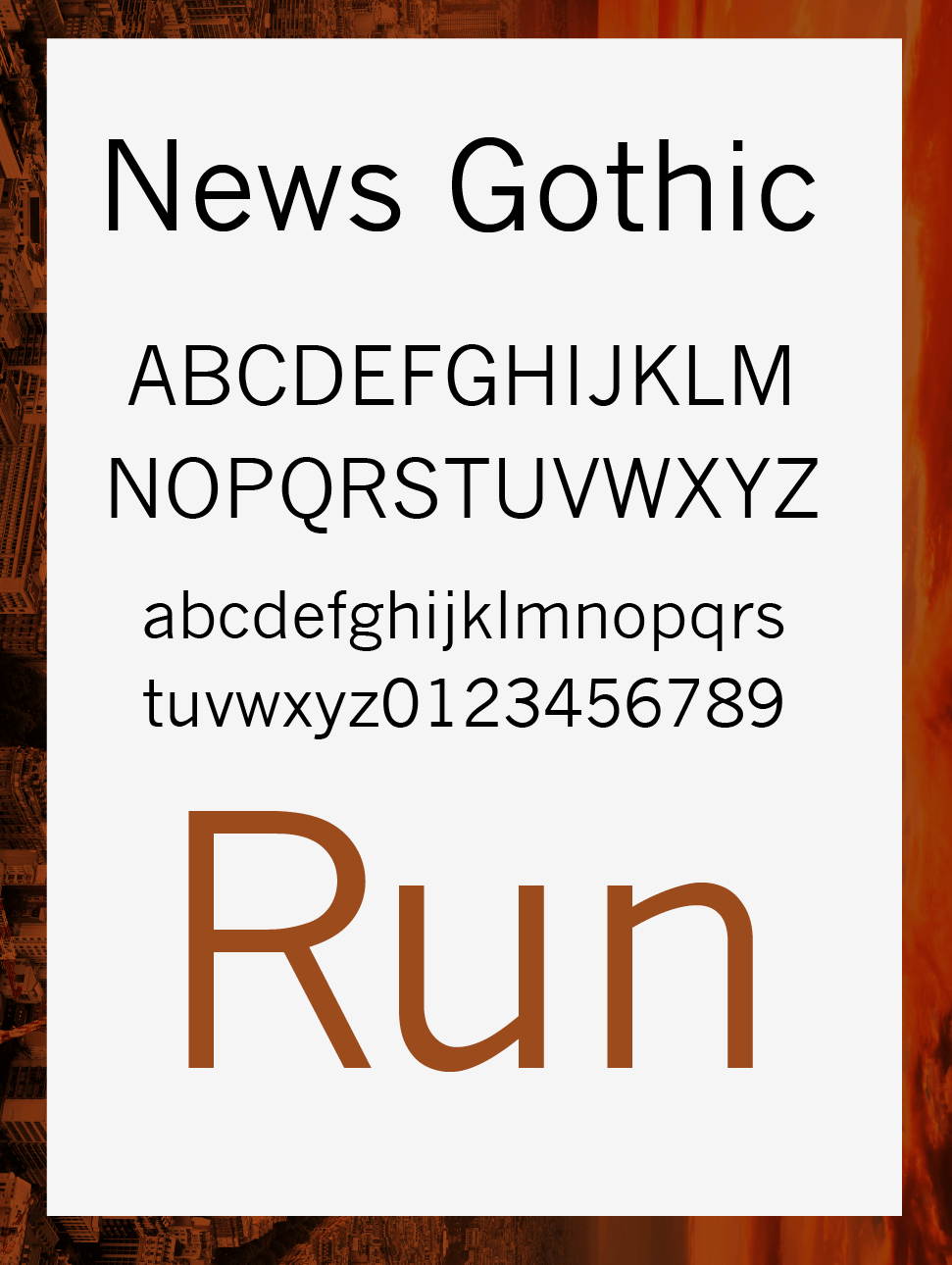 'Survive' with these Fonts - image 2 - student project