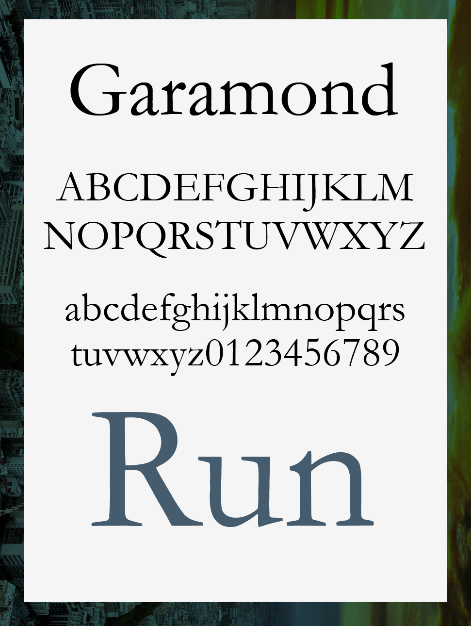 'Survive' with these Fonts - image 1 - student project