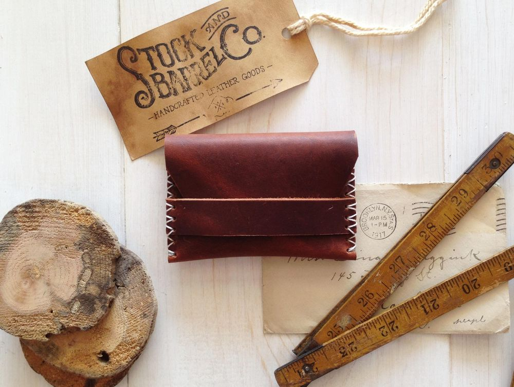 Stock & Barrel Co. | Handcrafted Leather goods - image 6 - student project