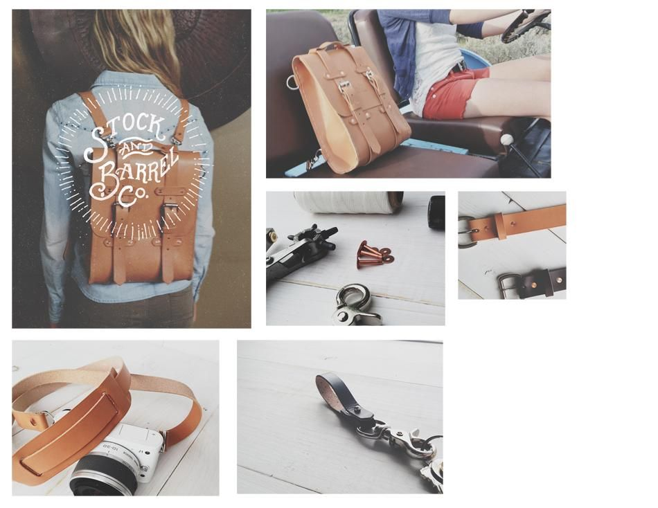 Stock & Barrel Co. | Handcrafted Leather goods - image 2 - student project