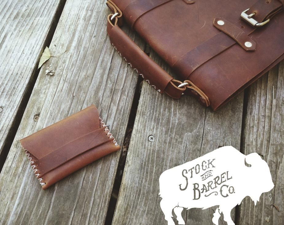 Stock & Barrel Co. | Handcrafted Leather goods - image 5 - student project