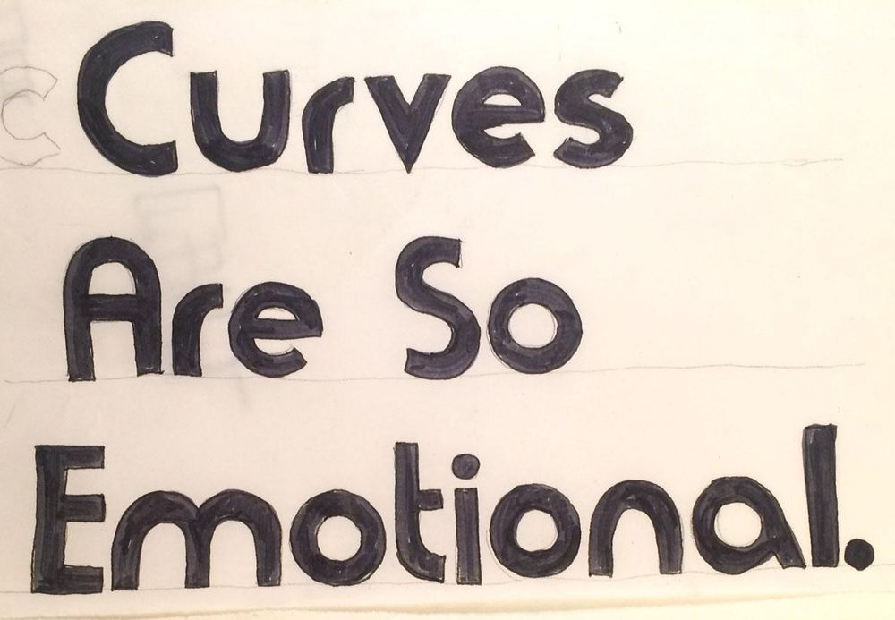 Curves Are So Emotional - image 6 - student project