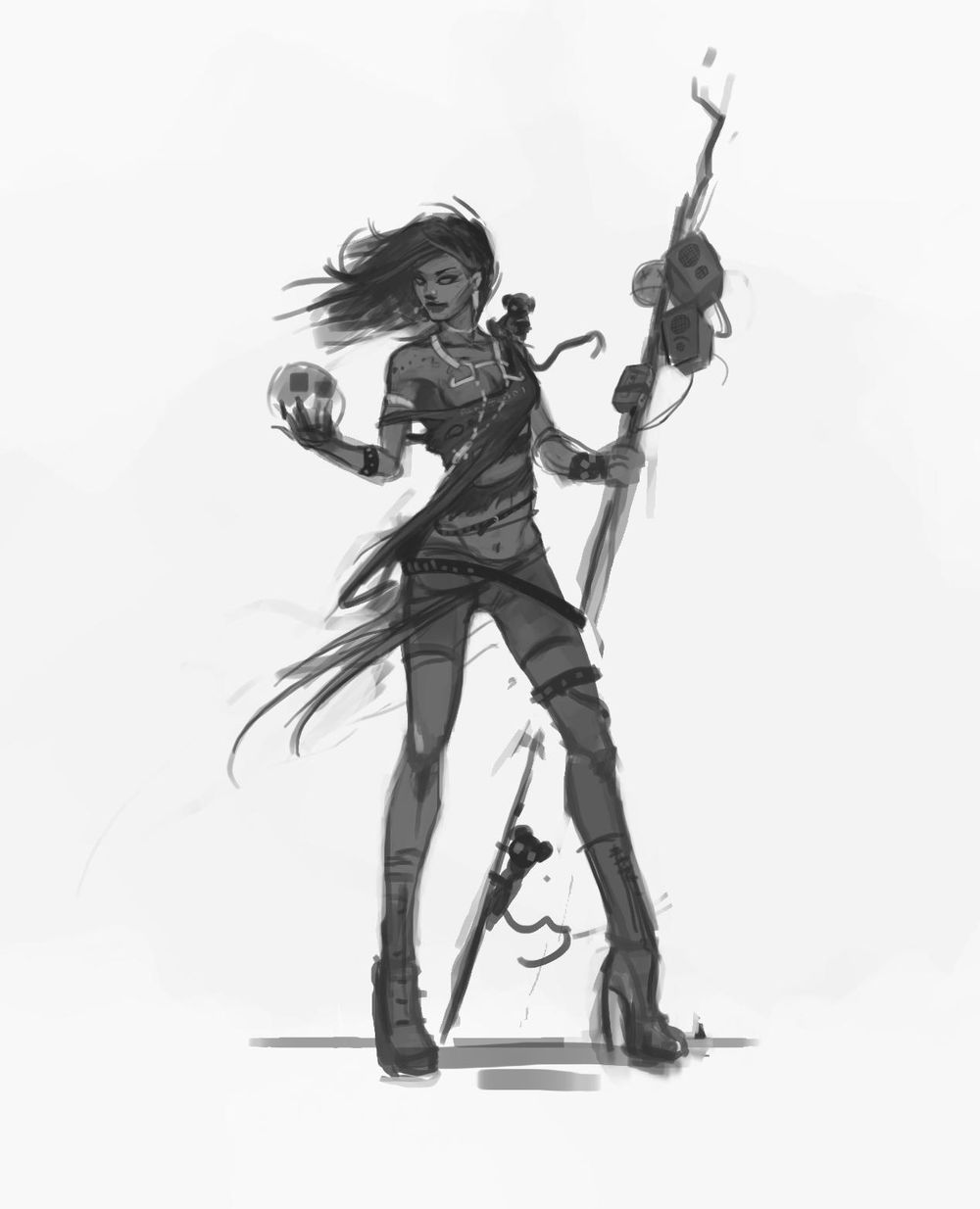 Heavy Metal Sorcerer - image 3 - student project