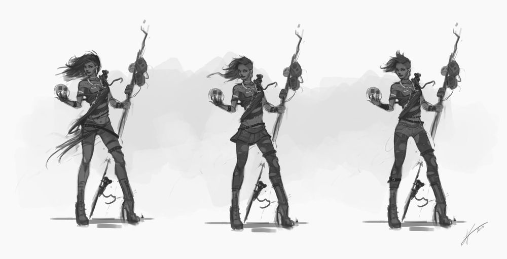 Heavy Metal Sorcerer - image 5 - student project