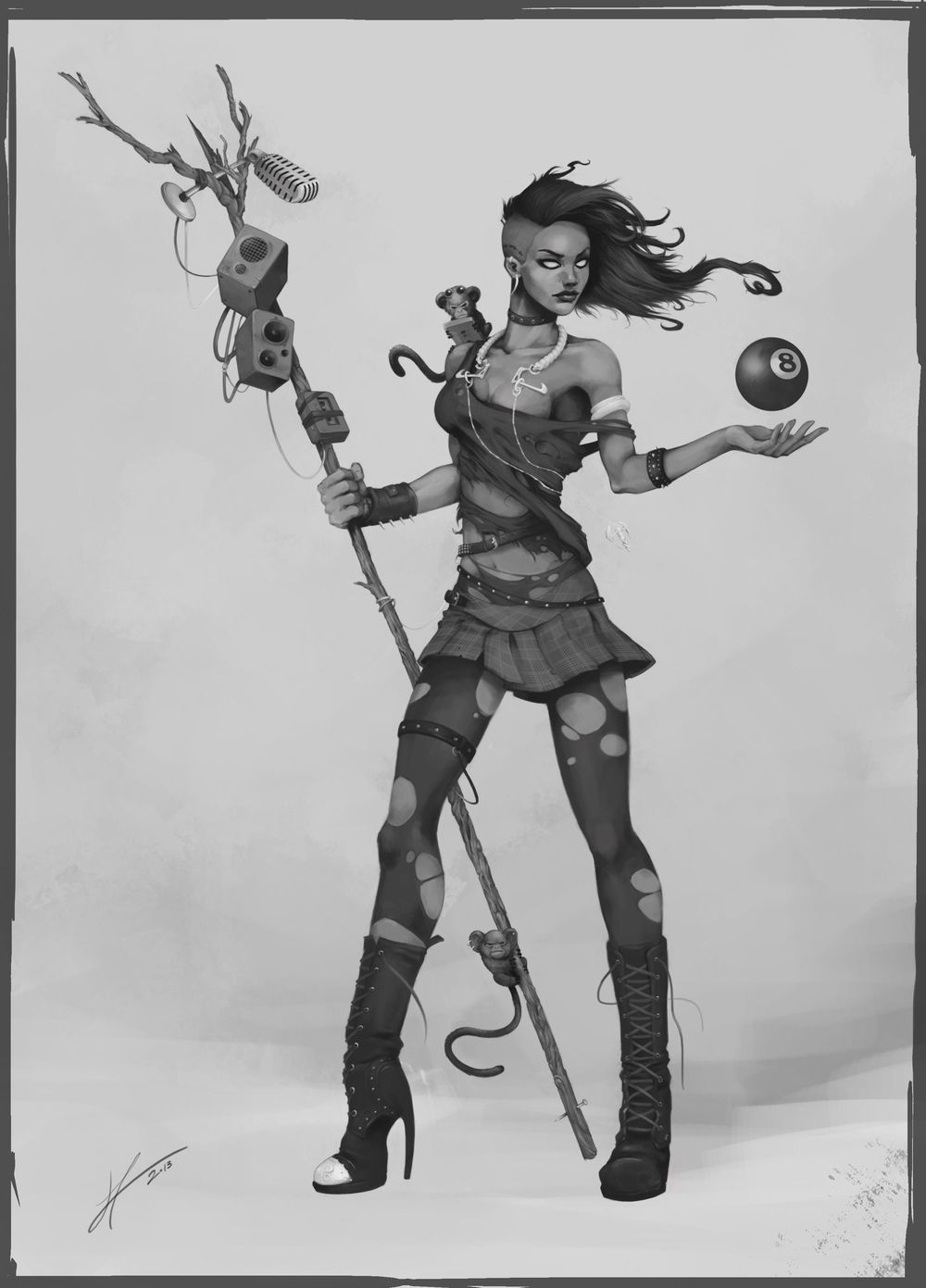 Heavy Metal Sorcerer - image 6 - student project