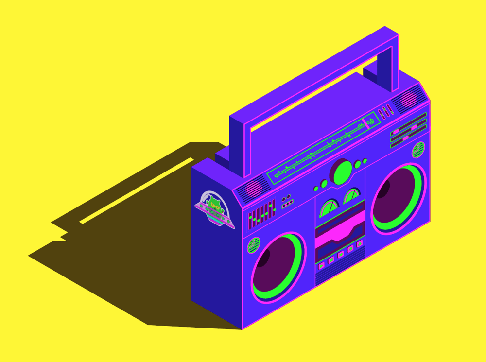 Boombox - image 1 - student project