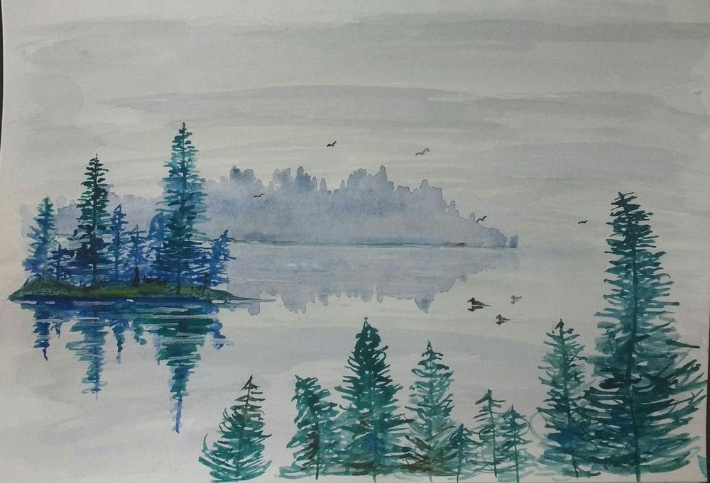 Misty Waters - image 1 - student project