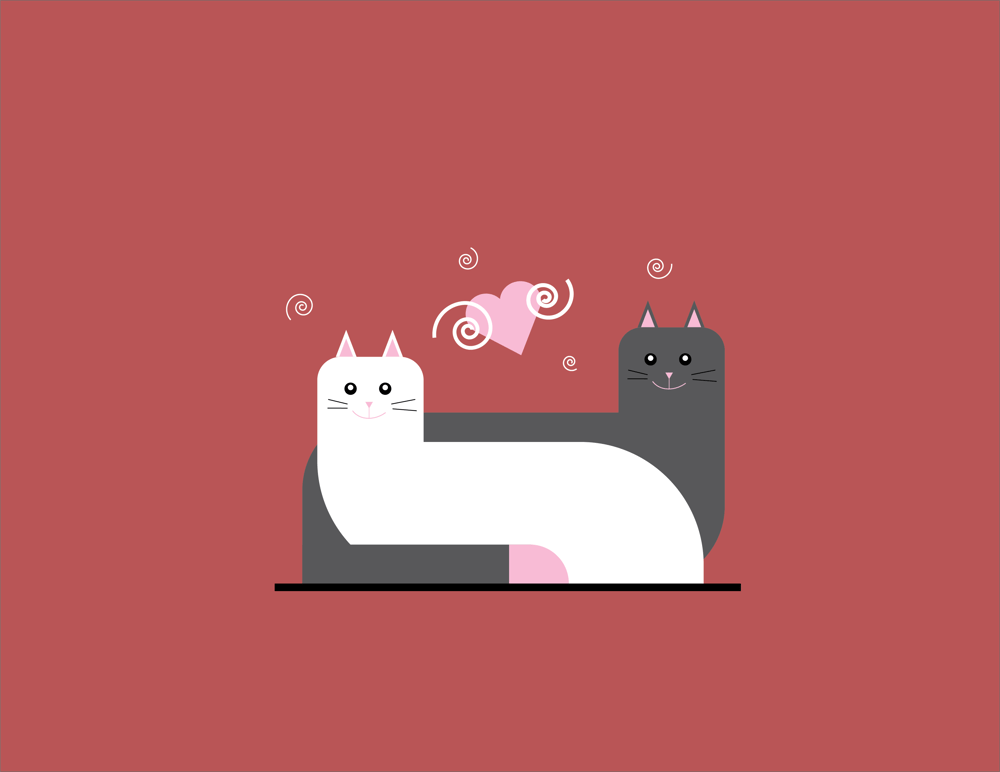 Cats Love - image 1 - student project