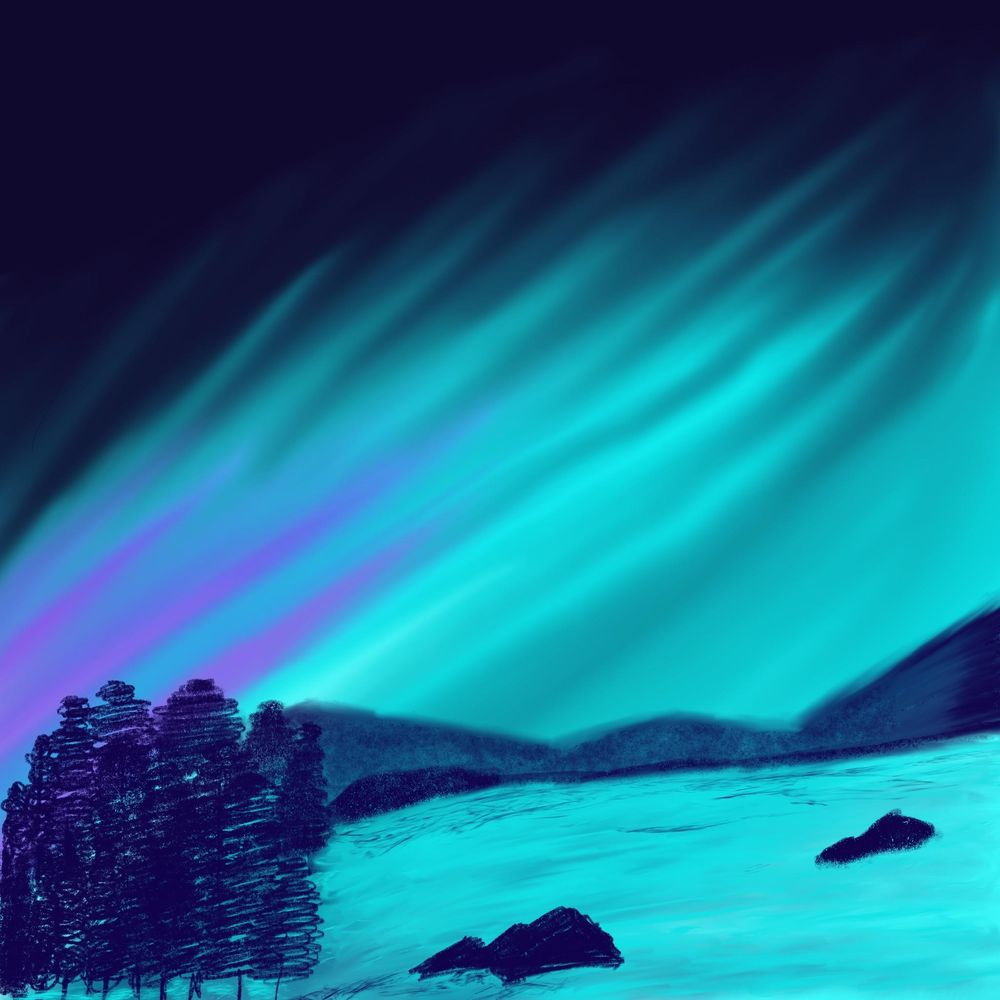 Aurora lights - image 1 - student project