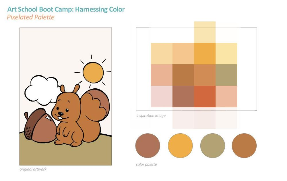 Art School Boot Camp: Harnessing Color - image 2 - student project