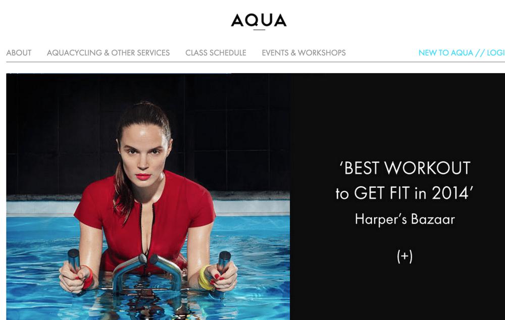 AQUA Studio NY - Messaging Refresh - image 1 - student project