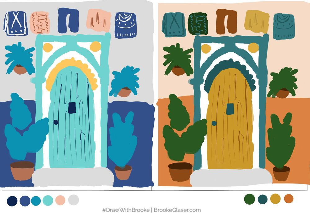 color sketches - image 1 - student project