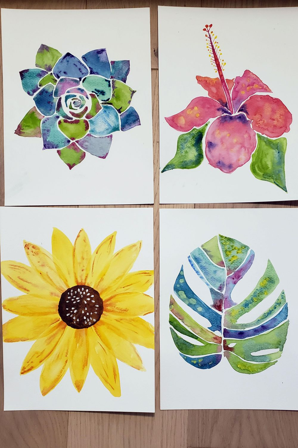 Botanical Watercolour Projects - image 1 - student project