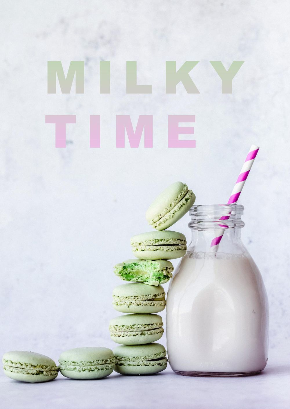 Milky Time - image 1 - student project