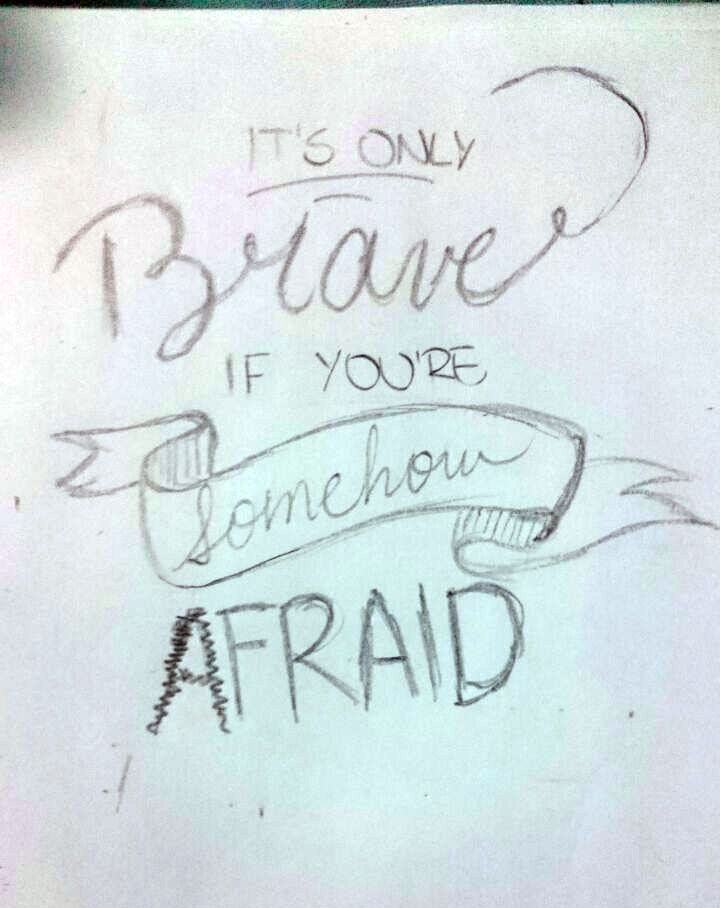 Brave they say - image 1 - student project