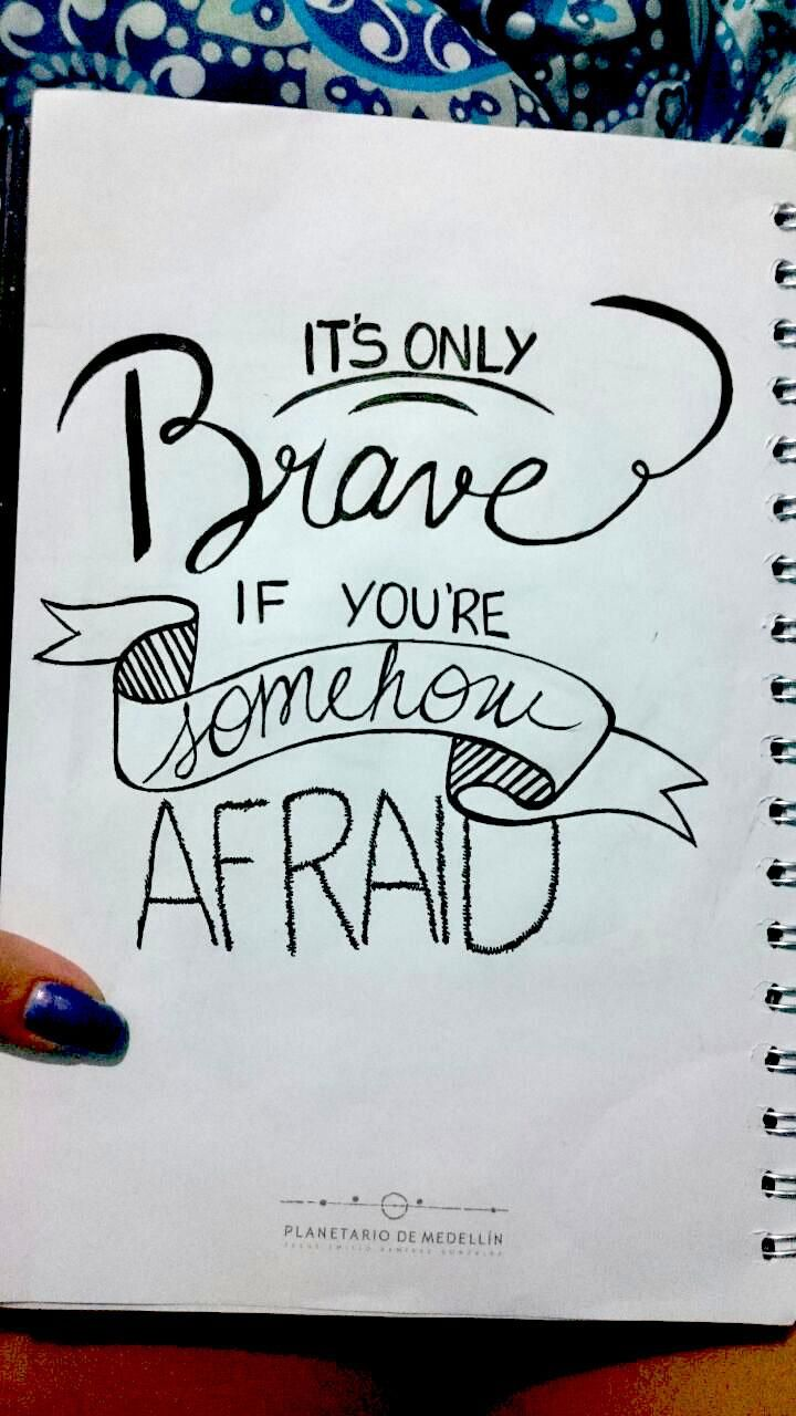 Brave they say - image 2 - student project