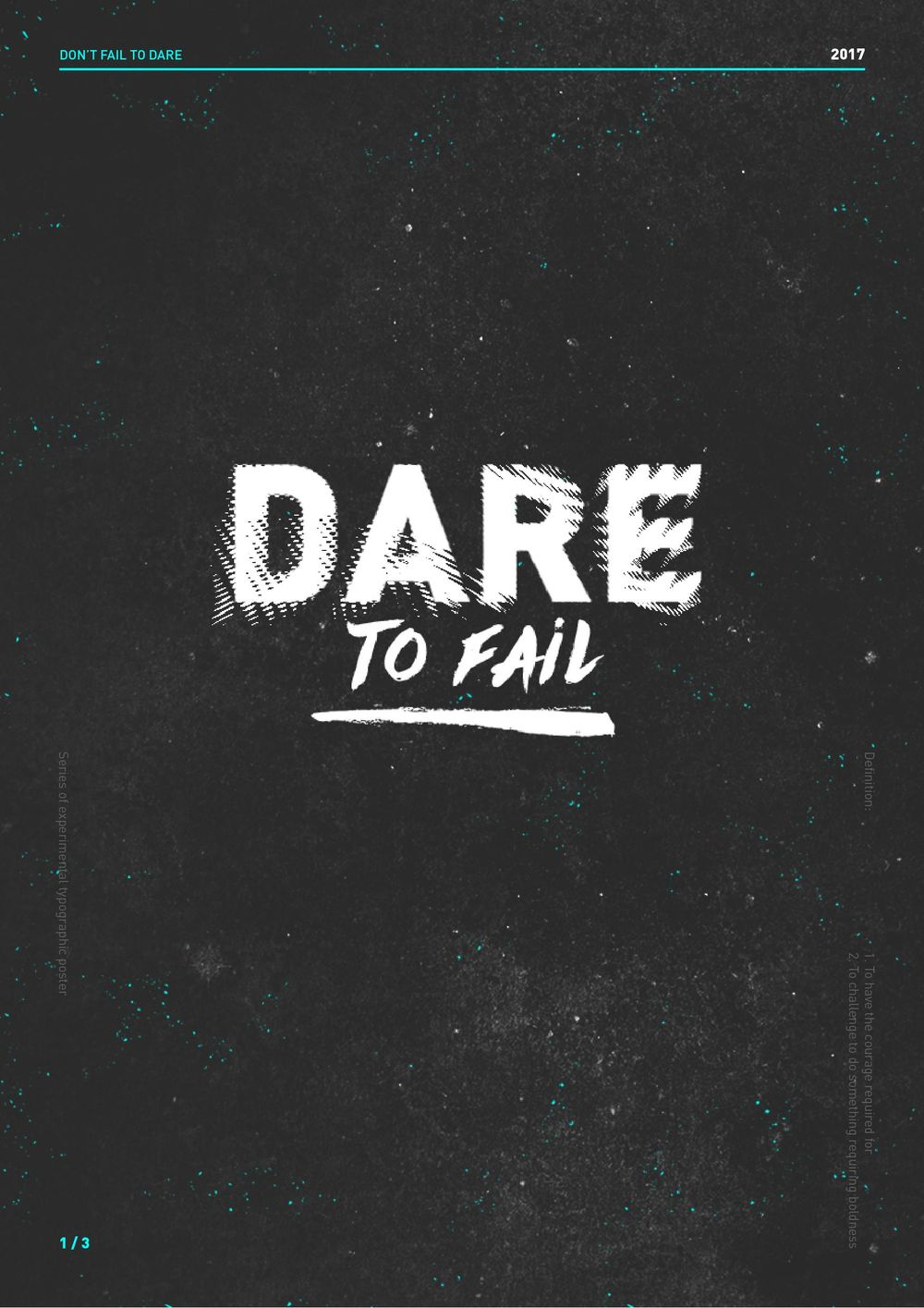 DARE to fail - image 1 - student project