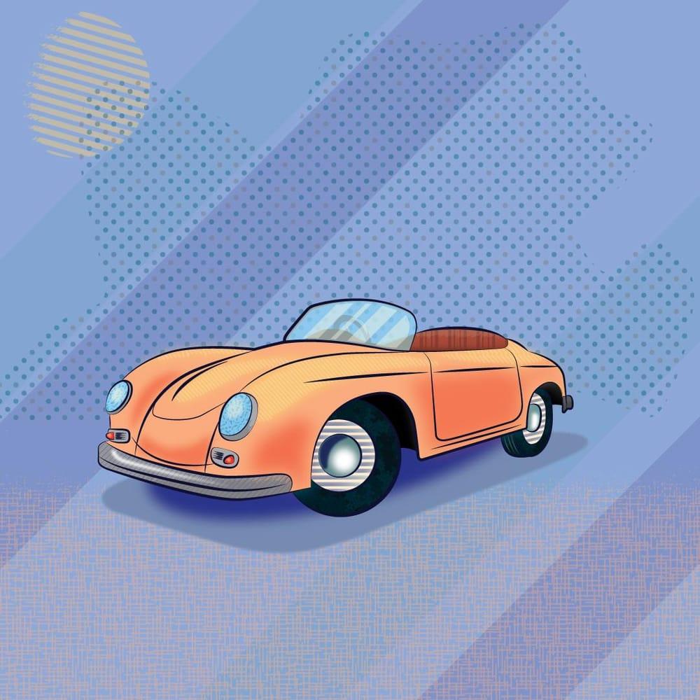 Porsche 365 - image 1 - student project