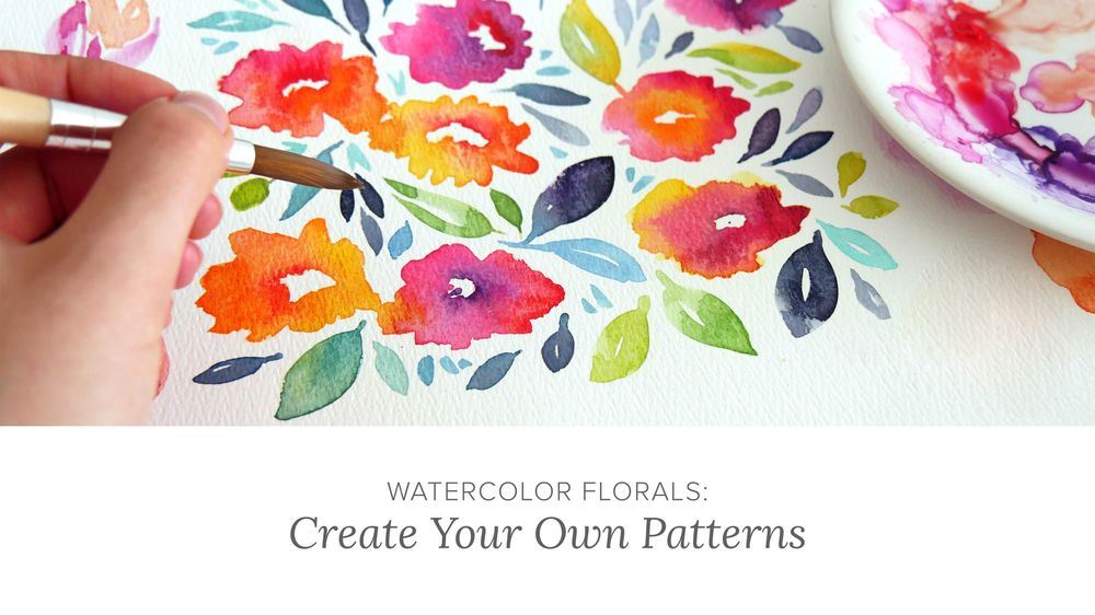 Learn to Paint Watercolor Florals (Update: Published!) - image 1 - student project