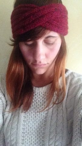 Single twist headband  - image 1 - student project
