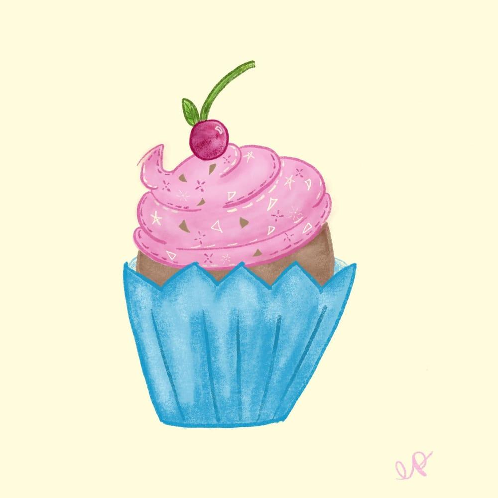Procreate Cupcake - image 1 - student project