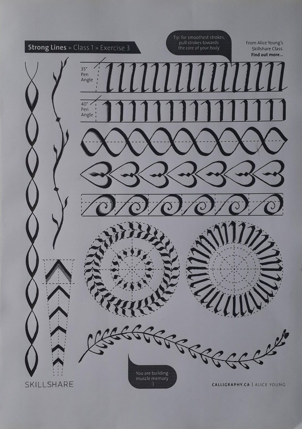 Not a tattoo doodle - image 3 - student project