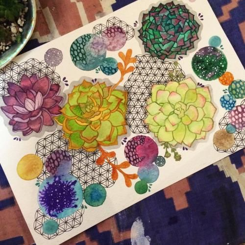 Sacred Succulents - image 1 - student project