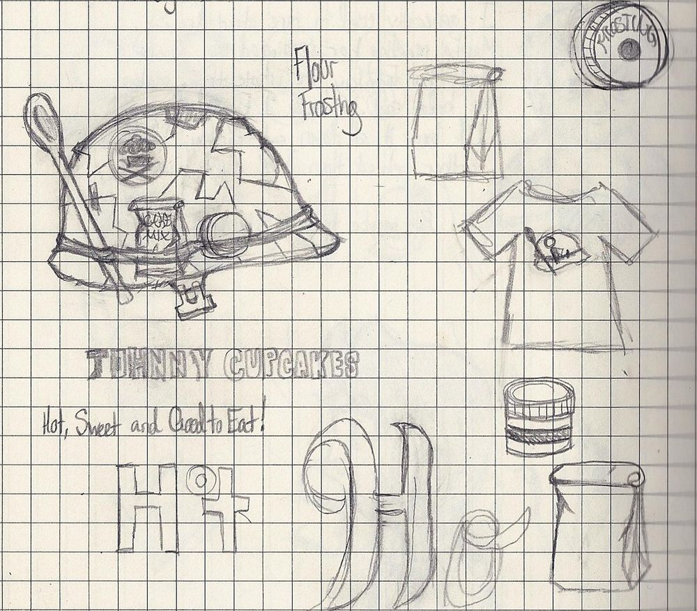 JRP makes a Johnny Cupcakes Shirt  - image 9 - student project