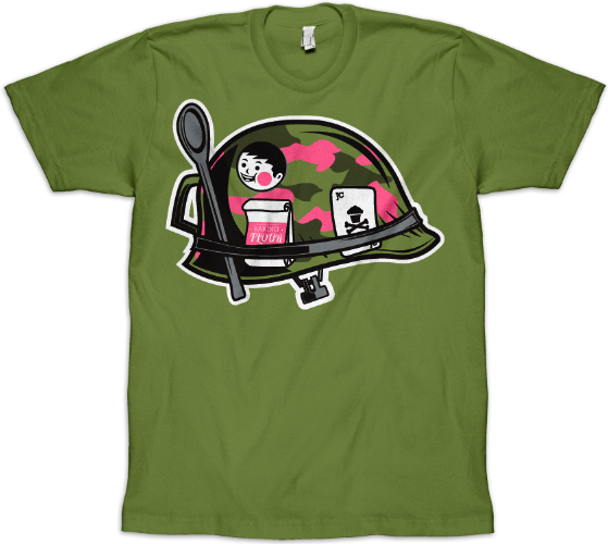 JRP makes a Johnny Cupcakes Shirt  - image 2 - student project