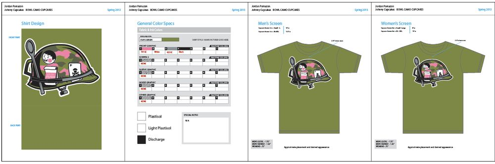 JRP makes a Johnny Cupcakes Shirt  - image 3 - student project