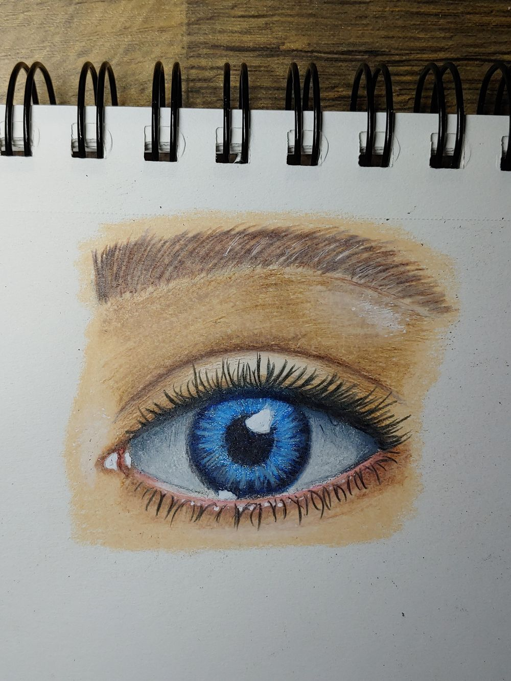 Blue Eye - image 1 - student project