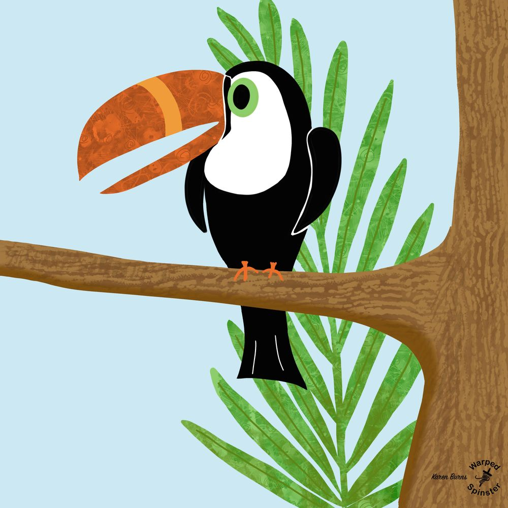 Sid, the textured toucan - image 2 - student project