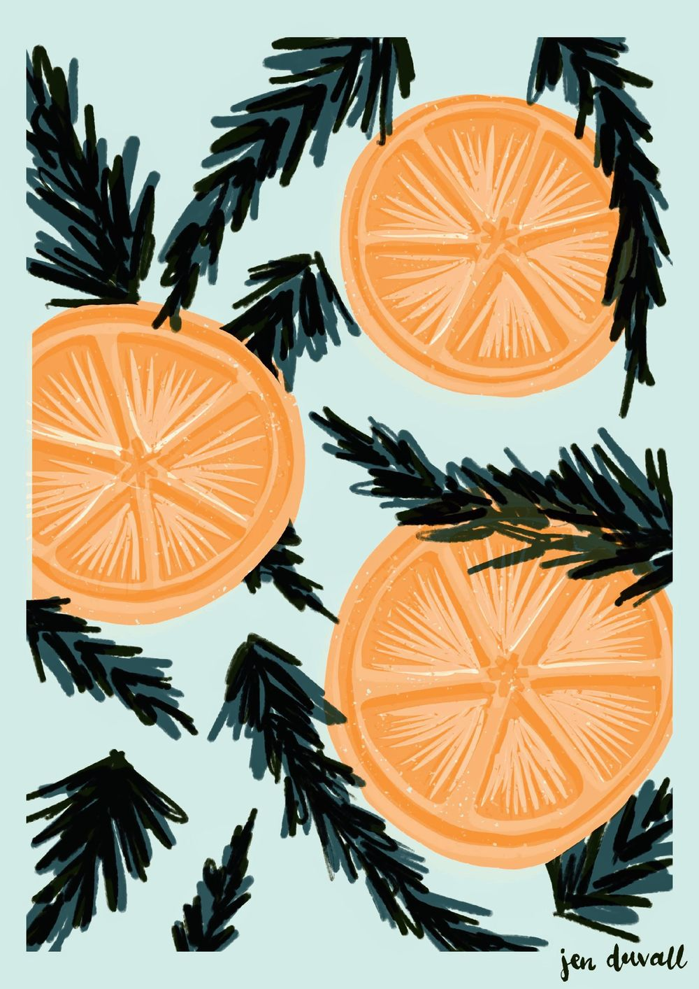 Citrus & Evergreen - image 3 - student project